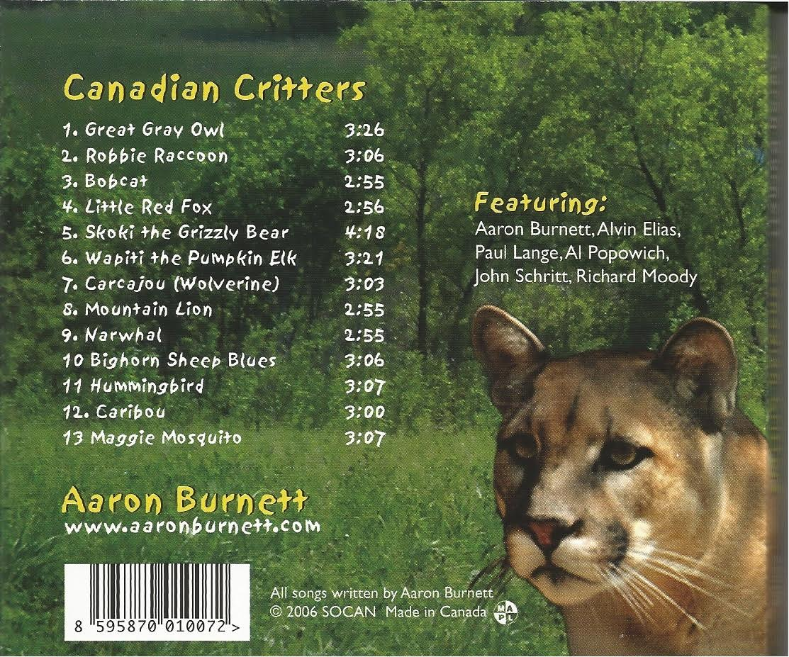 Canadian Critters back